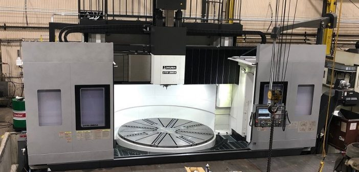 Akkerman Takes Delivery of New Okuma Double Column Turning Center