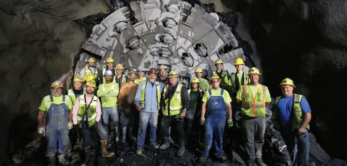 Delaware Aqueduct Bypass Tunnel Boring Now Complete