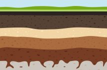 layers of ground illustration