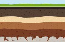 layers of ground illustration