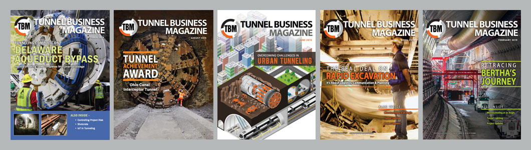 TBM: Tunnel Business Magazine covers