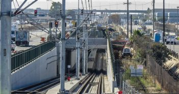 Train Testing Underway on Southern Part of Crenshaw/LAX Line