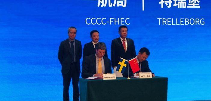 Trelleborg to Assist CCCC in Landmark Projects in China