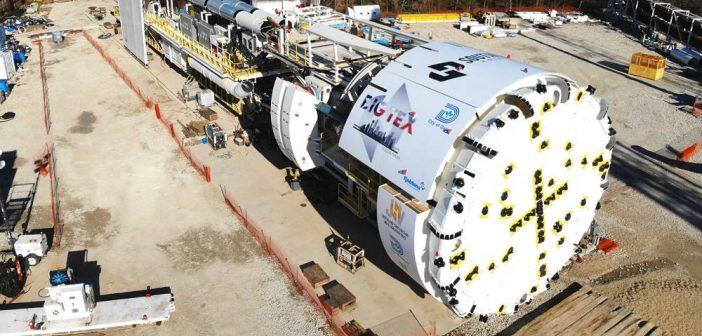 "Dallas Unveils ""Big Tex"" TBM for Mill Creek Tunnel"
