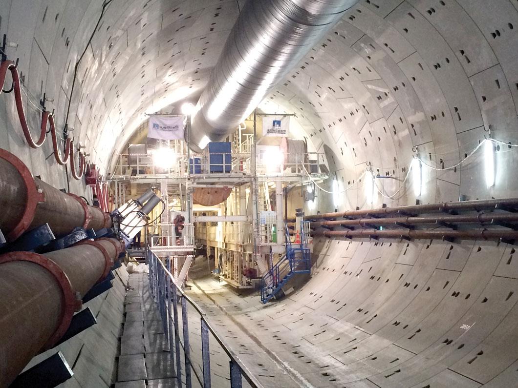 Ismailia Tunnel Under Suez Canal Breakthrough