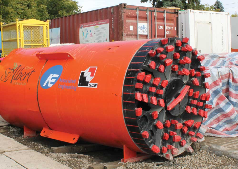 St. Albert sewer installation