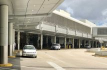 The Miami Airport sits nearly empty