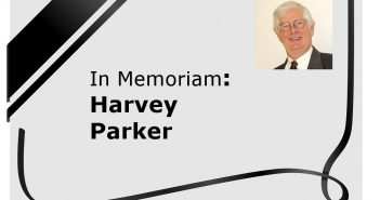 In Memoriam: Harvey Parker