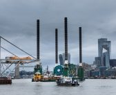 TBM for Thames Tideway Final Drive Arrives in London