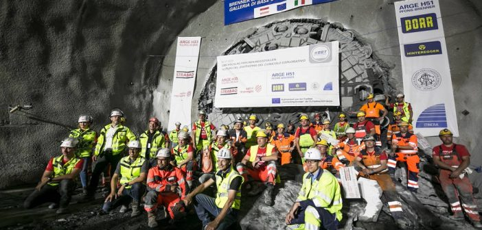 Herrenknecht TBM Reaches Milestone on Brenner Base Tunnel