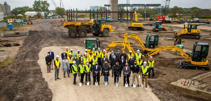 Komatsu Mining Breaks Ground for New Campus in Milwaukee