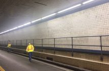 the CBBT approved the new luminaires for the tunnels' Interior Zones