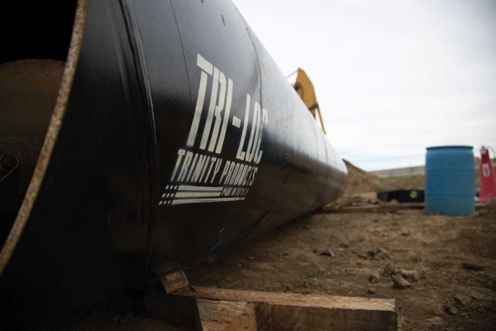 Tri-Loc pipe