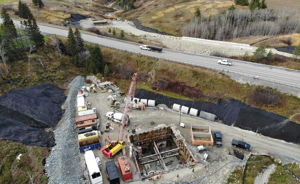 CRS Tunneling twin culvert project