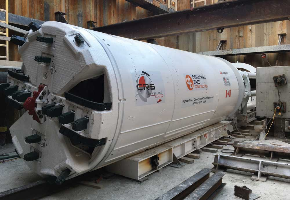 CRS Tunnelling twin culvert project