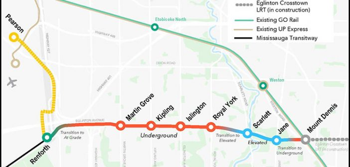 First Negotiations Proponents Identified for Scarborough Subway and Eglinton Crosstown West Advance Tunnel Projects