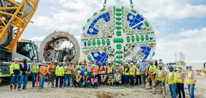 Los Angeles County Sanitation Districts Unveils Clearwater TBM
