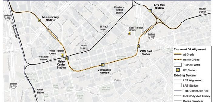 Dallas City Council Approves DART D2 Subway Resolution