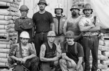 A group of Metro Red Line miners