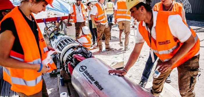 Swissloop Tunneling Teams Wins Innovation Award at Not-A-Boring Competition